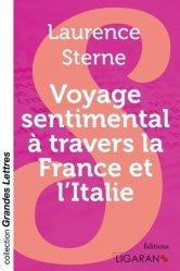 Dernières parutions dans Grandes Lettres, Voyage sentimental à travers la France et l'Italie