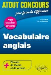 Dernières parutions dans Atout Concours, Vocabulaire anglais