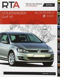 Dernières parutions dans Revue technique automobile, Volkswagen golf VII 1.6 tdi 105 ch 10/2012 ->