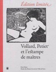 Dernières parutions sur Illustration, Vollard, Petiet et l'estampe de maîtres