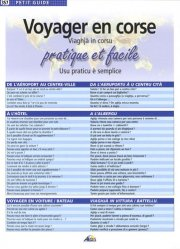 Dernières parutions sur Corse, Voyager en Corse