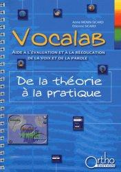 Souvent acheté avec Evalad - Pack avec un manuel, un livret de passation et cotation, 10 livrets d'enregistrement et 10 planches, le Vocalab