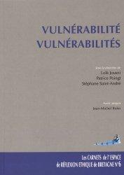 Dernières parutions dans Les carnets de l'espace éthique de Bretagne Occidentale, Vulnérabilité, vulnérabilités