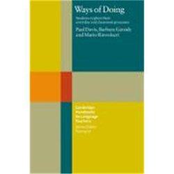 Dernières parutions dans Cambridge Handbooks for Language Teachers, Ways of Doing