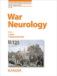 Dernières parutions dans Frontiers of Neurology and Neuroscience, War Neurology