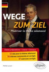 Dernières parutions sur Méthodes de langue (scolaire), Wege zum Ziel