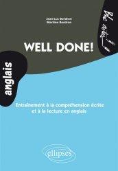 Dernières parutions dans Bloc notes anglais, Well done !
