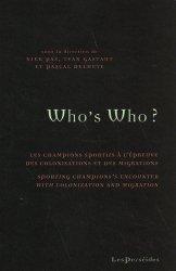 Dernières parutions sur Histoire du sport, Who's Who ?