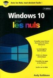 Dernières parutions dans Pour les nuls poche , windows 10 poche pour les nuls