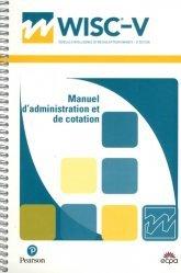 Dernières parutions sur Tests, WISC-V. Manuel d'administration et de cotation, 5e édition