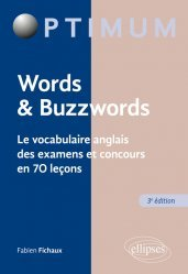 Dernières parutions sur Auto apprentissage, Words & Buzzwords