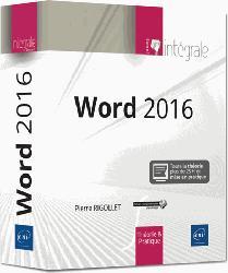 Dernières parutions dans Intégrale, Word 2016