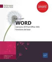 Dernières parutions sur Bureautique, Word (versions 2019 et Office 365)
