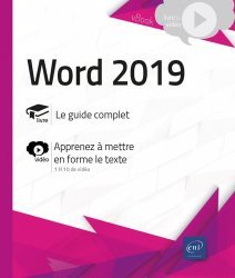 Dernières parutions sur Internet, Word (versions 2019 et Office 365)