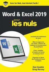Dernières parutions dans Poche pour les Nuls, Word et Excel 2019 Poche Pour les Nuls