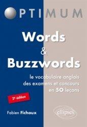 Dernières parutions sur Vocabulaire, WORDS AND BUZZWORDS
