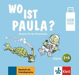 Dernières parutions sur Méthodes de langue (scolaire), Wo ist paula 3-4 - clé USB