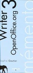 Dernières parutions dans Mémento, Writer 3 OpenOffice.org