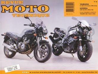 Dernières parutions dans Revue moto technique, Yamaha XJ 600 S Diversion (1992 et 93) - Honda CBR 900 ( 1992 et 93)