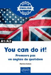 Dernières parutions sur Auto apprentissage, You can do it ! A1/A2