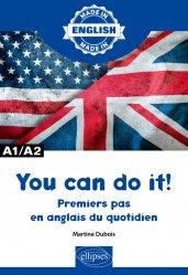 Dernières parutions sur Auto apprentissage, You can do it ! A1/A2