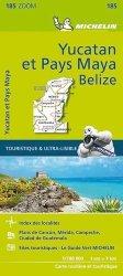 Dernières parutions sur Mexique, Yucatan et Pays Maya Belize. 1/700 000, Edition bilingue français-anglais