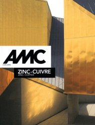 Dernières parutions dans AMC, Zinc - Cuivre