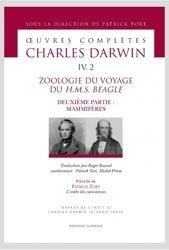 Dernières parutions sur Buffon - Lamarck - Darwin, Zoologie du voyage du H.M.S Beagle