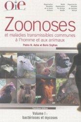 Nouvelle édition Zoonoses et maladies transmissibles communes à l'homme et aux animaux PACK 3 Volumes
