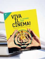 Mardi 3 mars - Book Club Viva Il Cinema