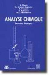 La couverture et les autres extraits de Analyse chimique