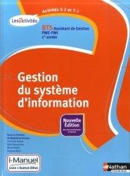 A5.3-A7.1 Gestion du système d'information BTS Assistant de Gestion PME-PMI 1e année