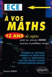 À vos maths ECE