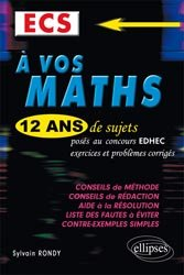 À vos maths  ECS