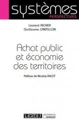 Achat public et économie des territoires