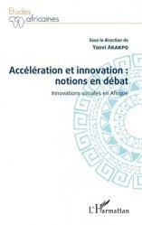 Accélération et innovation : notions en débat