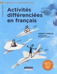 Activités différenciées en français