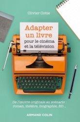 Adapter un livre pour le cinéma et la télévision