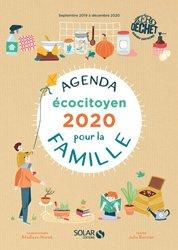Agenda écocitoyen pour la famille zéro déchet