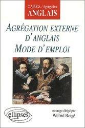 Agrégation externe d'anglais mode d'emploi
