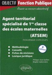 Agent territorial spécialisé de 1re classe des écoles maternelles (ATSEM)