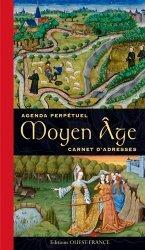 Agenda perpétuel du Moyen-Age carnet d'adresses