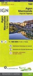 La couverture et les autres extraits de Rodez, Millau, PNR des Grands Causses. 1/100 000