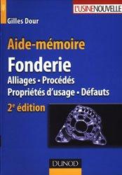 Aide-mémoire Fonderie