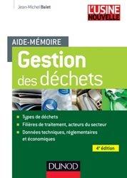 Aide-mémoire de gestion des déchets