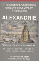 Alexandrie. Petit guide touristique littéraire