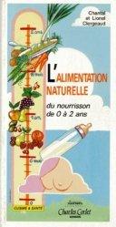 Alimentation naturelle du nourrisson de 0 à 2 ans