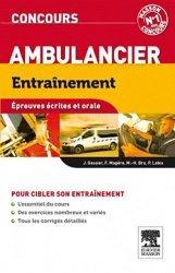 La couverture et les autres extraits de Concours ambulancier tout en un