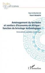 Aménagement du territoire et sentiers d'économie en Afrique : fonction du bricolage technologique