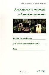 Aménagements paysagers et approches durables